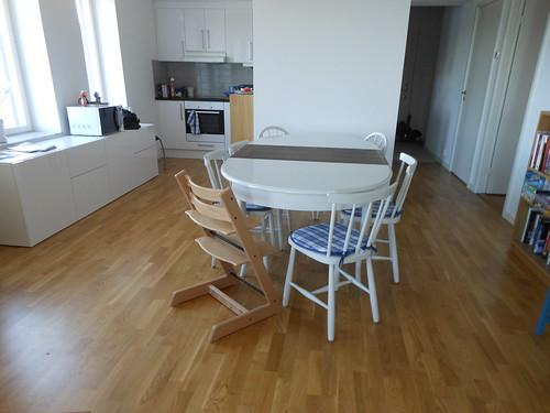 Nya (ärvda) bordet