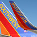 Southwest Airlines winglet and tail B737-800