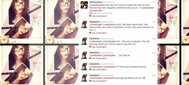 Celestina's Twitter Screengrab via EDMW (Click to Enlarge)