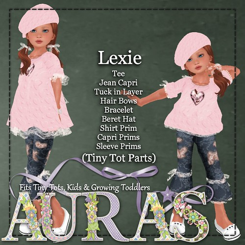 Lexie in Pink for Tots Kids by AuraMilev