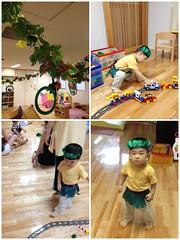 子育て支援センターにて (2012/8/4)