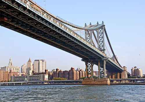 manhattan bridge nyc by Alida's Photos