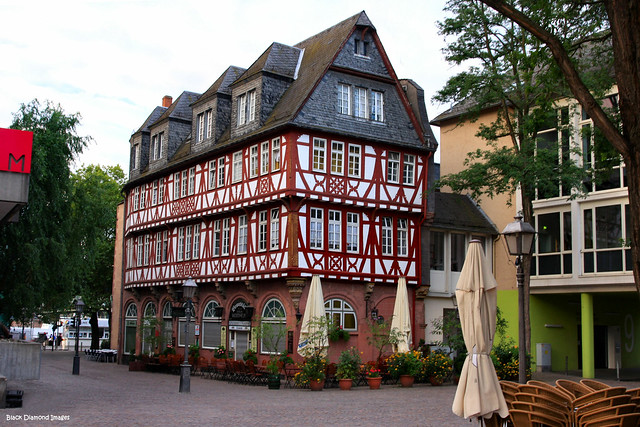 Haus Wertheym, Fahrtor, near the Romer - Frankfurt am Main (Frankfurt) Hesse, Germany