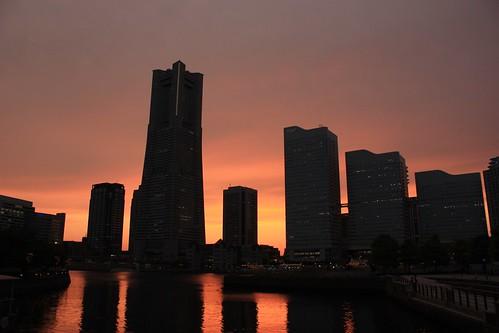 Yokohama skyline - Japan