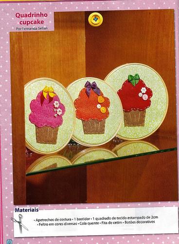 Quadrinhos cupcake by Koisinhas da Ane