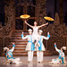 Iohna Loots as Clara and artists of The Royal Ballet in the Chinese dance, The Nutcracker, ©Johan Persson/ROH 2010