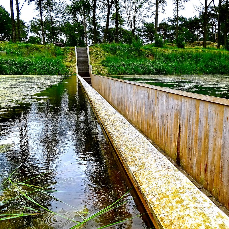 Moses Bridge, Fort de Roovere, Halsteren, The Netherlands
