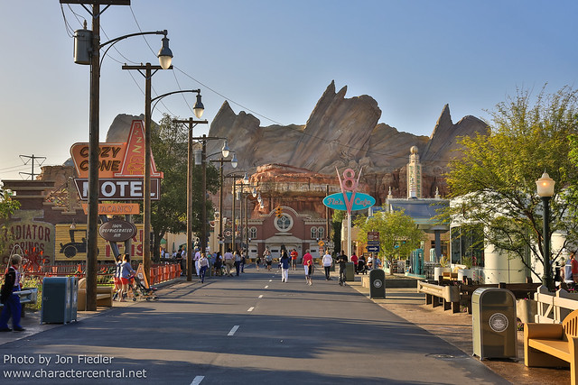 Disneyland July 2012 - Cars Land first thing in the morning