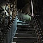 Stairs Ala Grunge by Barbara Hamilton