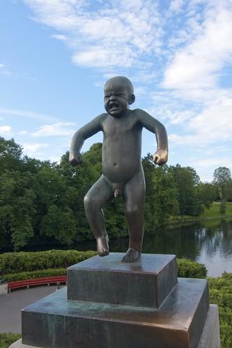 408 Parque Vigeland 20 julio - Oslo