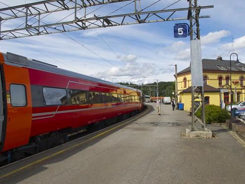 465 Bus para el Tren Oslo-Bergen