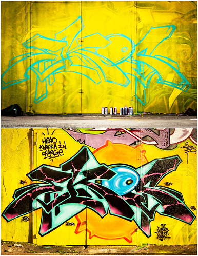 Before and After | Ekos | Houston Graffiti 2012