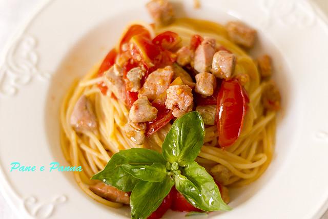 Spaghetti con il tonno2