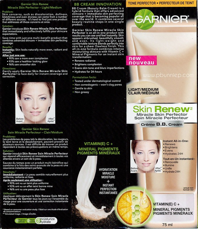 Garnier BB Cream--06 ingredients