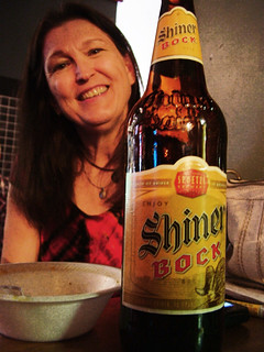 Anita & Shiner Bock
