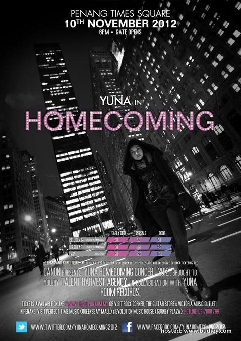 Yuna Concert
