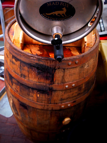 Cask on the barrel-head