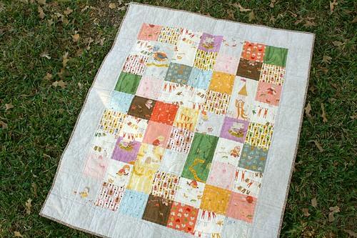 Far Far Away III baby quilt