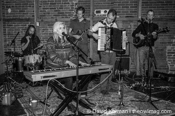 Dark Dark Dark @ Arlene Francis Center, Santa Rosa 11/01/2012