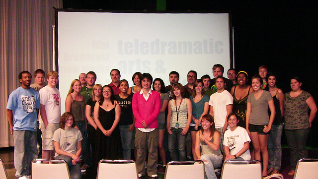 2009-8-29「Lecturing Students at California State University, M.B.」