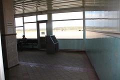Salle d'embarquement de l'aéroport de Voronezh