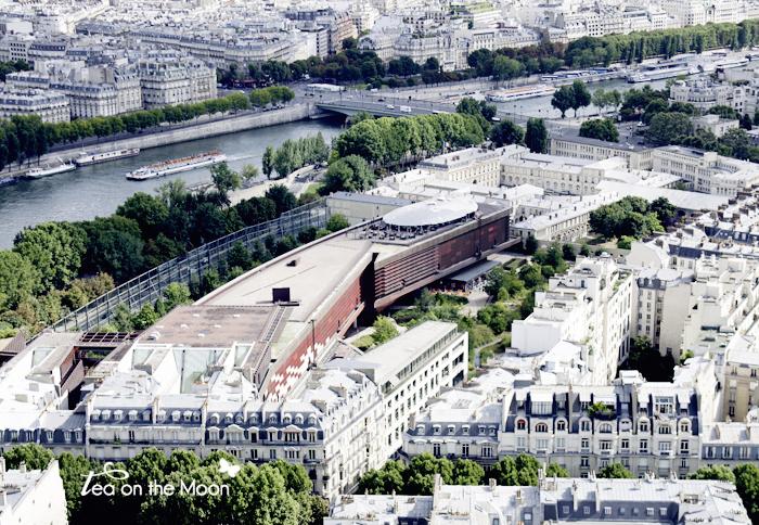 Quai branly-Paris torre eiffel