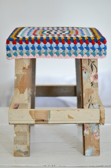 wood & wool stool jip
