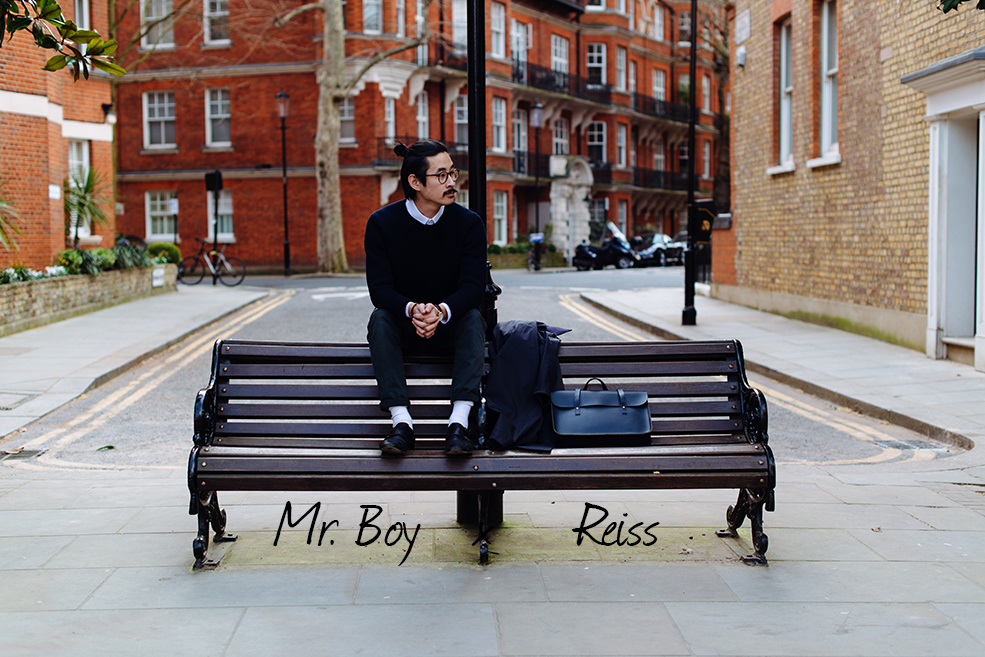 Mr Boy Style Fashion Menswear Mens Fashion Blog Mens Style Blog Chinese Asian London Hong Kong Reiss Style Travelled Tailoring Knitwear Trench Coat Mac Business