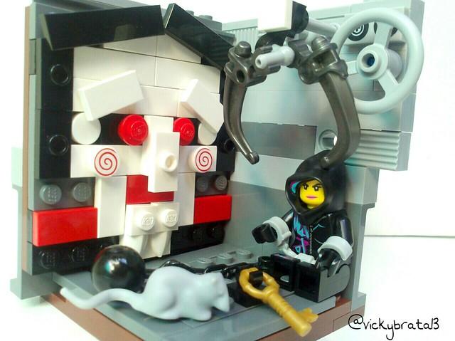 "Lego MOC habitat ""Jigsaw"""