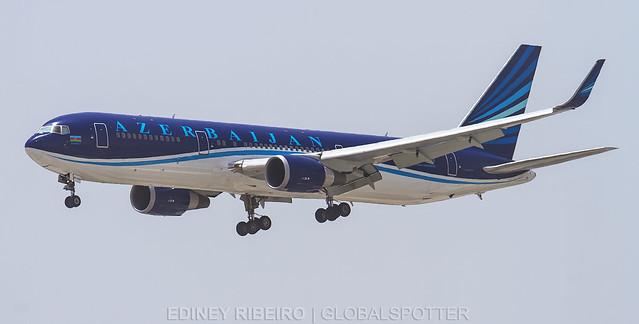 BOEING 767-300ER (4K-AZ82) AZERBAIJAN AIRLINES | DUBAI | DXB-OMDB