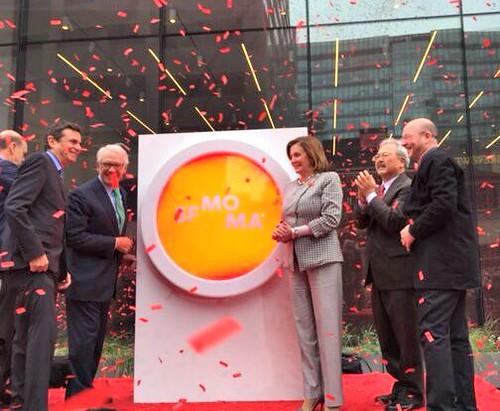 Pelosi Celebrates SFMOMA Opening Day