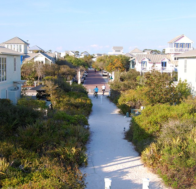 Seaside a florida panhandle beach community flickr for Top beach towns in florida