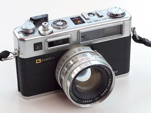 Yashica Electro 35 GSN by pho-Tony