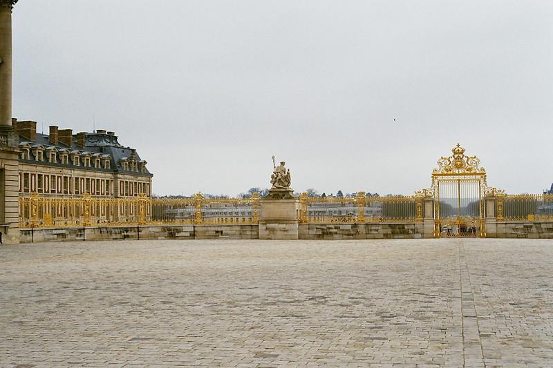 Versailles - entrance