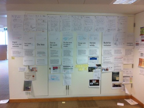 Design principles wall