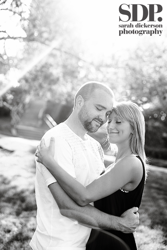Lawrence Kansas engagement photographs