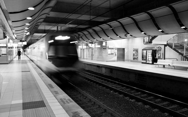 Sydney Underground Train