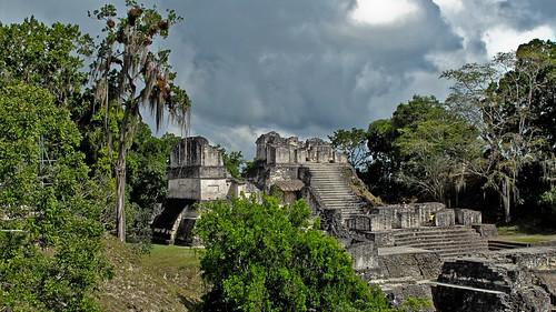 Maya Stadt Tikal (Guatemala)