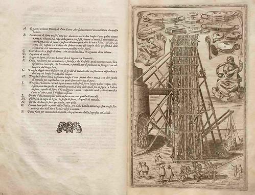 002-Della trasportatione dell'obelisco Vaticano…1590- Doménico Fontana-© Biblioteca Nacional Digital de Portugal