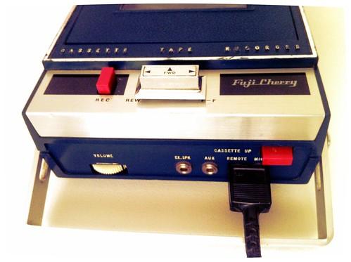 Fuji Cherry Cassette Recorder