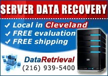 Server Data Recovery Cleveland