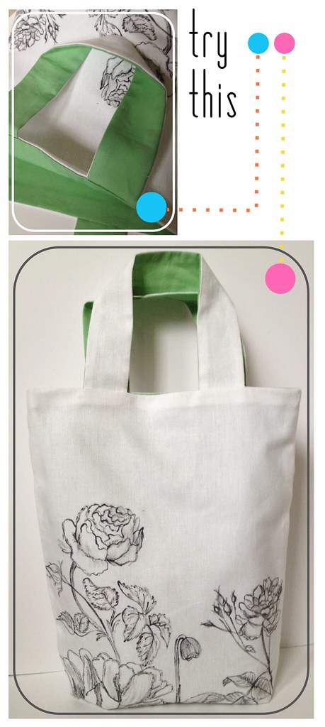 Try This - Botanic Sketch Tote Bag