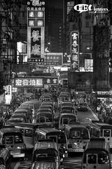 HK Street (Black & White)