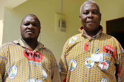 Two Proud Health Workers