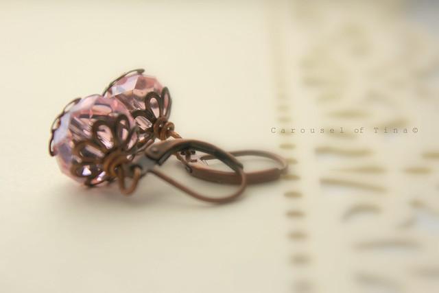 Pink Vintage Ring CT