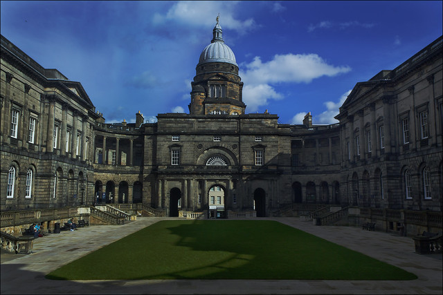 Old College Quadrangle, Edinburgh University