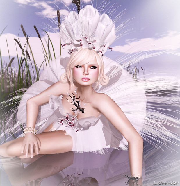 Solidea Folies White Orchid & -Glam Affair- Leah
