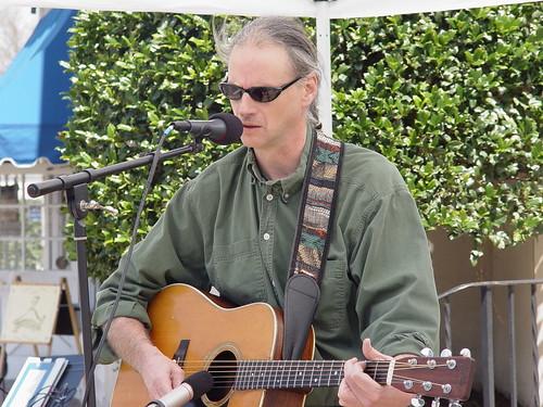 Musician Joe Norris, Earth Day Celebration, Leonardtown