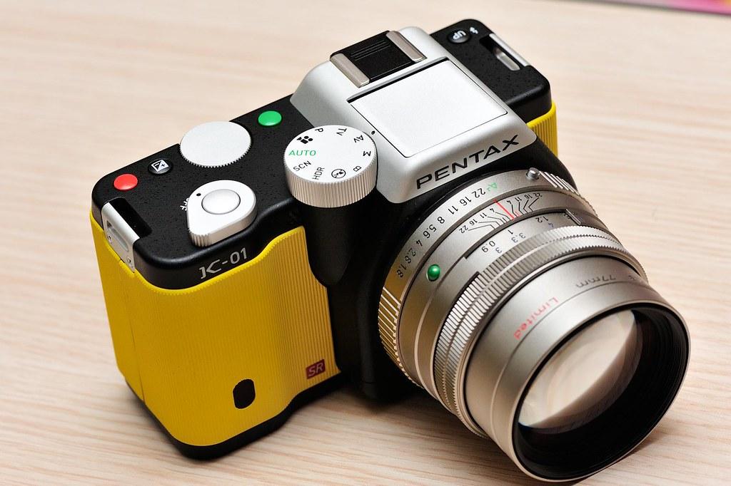 Pentax K-01開箱暨試拍
