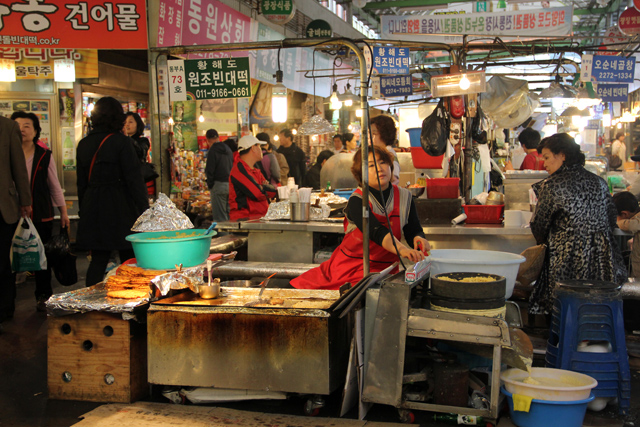 Gwangjang Market - Seoul, South Korea